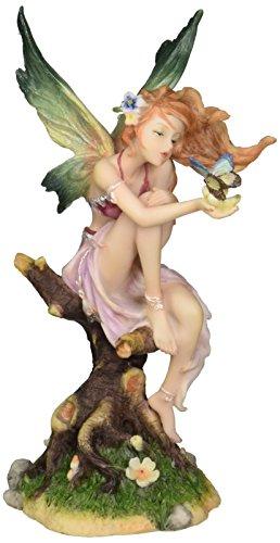 Design Toscano Kuss der Schmetterlings-Fee, Figur