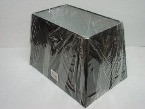 33cm 38,1cm 43,2cm Lampenschirm Rechteckiger Tisch, schwarz, schwarz, 15