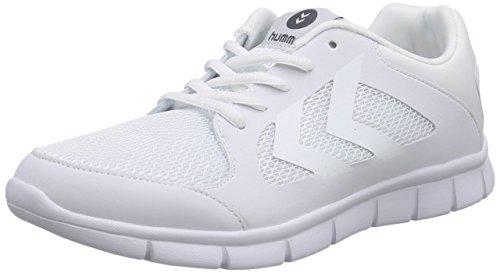 hummel EFFECTUS FIT Unisex-Erwachsene Hallenschuhe Weiß (White)