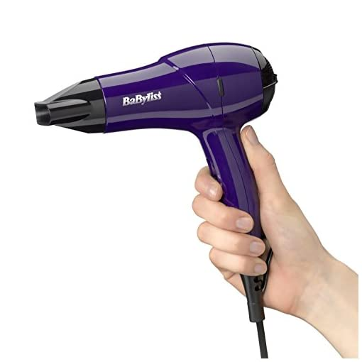 nano hair dryer - 41 pULZJu3L - BaByliss 5282BDU 1200W Multi Voltage Nano Hair Dryer – Brand New