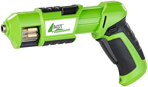 AGT Professional Mini-Akkuschrauber mit 3,6V/ 1,5 Ah & Bit-Trommel - 4