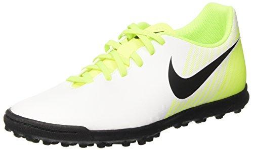 Nike Herren Magistax Ola Ii Tf Fußballschuhe Weiß (White/black-vert Volt-wolf Grey)