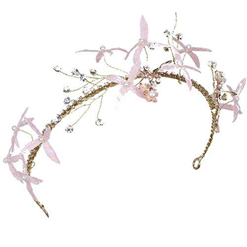 Olici MDRW-Bridal Hochzeit Ballsaal Haarnadel Haarschmuck Braut-Kopfbedeckung Friseur...