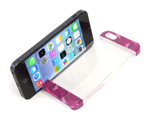 Tucano Bande à clipser pour iPhone 5/5s rose