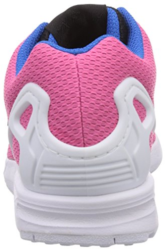 adidas Originals ZX Flux Unisex-Erwachsene Sneakers Rosa (Semi Solar Rosa/Core Schwarz/Off Weiß)
