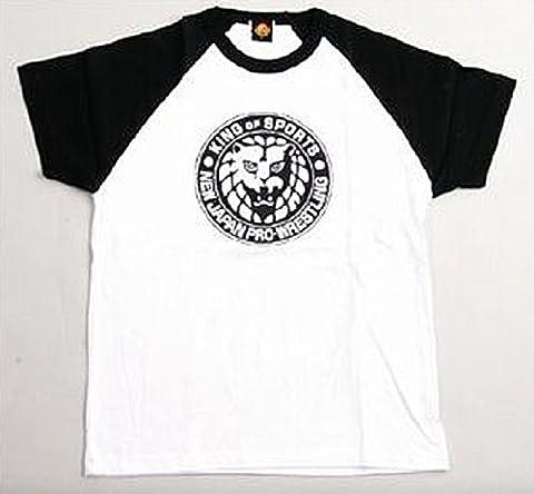 New Japan Pro Wrestling Lion Mark T-shirt (black) XL (japan import)