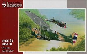 Special Hobby SPH72256 1:72 Model 68 Hawk III Durante Siam y Argentina