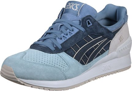 Asics - Gel Respector Platinum Collection Taupe Grey - Sneakers Unisex Bleu