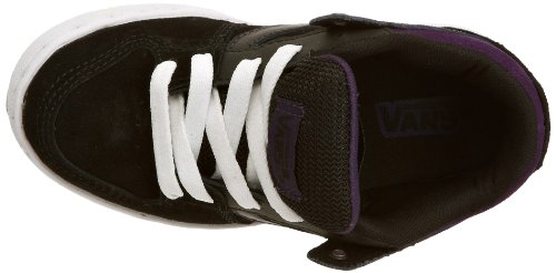 Vans Baxter, Baskets mode mixte bébé Black/white/purple