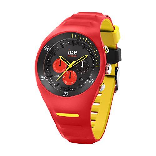 Ice-Watch - P. Leclercq Red - Montre rouge pour homme avec bracelet en silicone - Chrono - 014950 (Large)