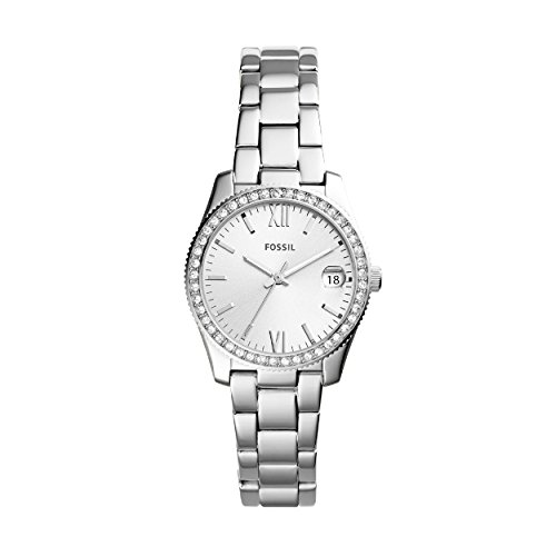 Fossil Women's Analogue Quartz Watch with Stainless Steel Strap ES4317
