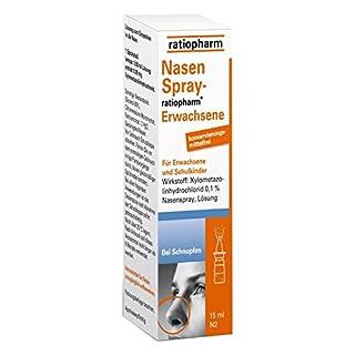 Nasenspray ratiopharm Erwachsene kons.frei 15 ml