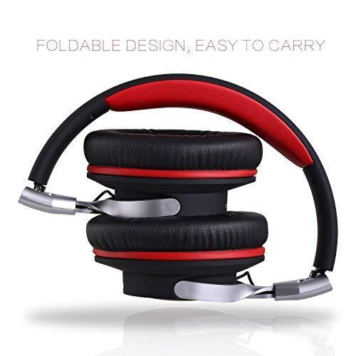 Cuffie Wireless Bluetooth 4.1 Cuffie Stereo con Microfono Cuffia Senza Fili  Musica Cstereo Pieghevole di leggero Cuffia per iphone e0fdf8118c9e