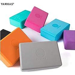 Yamkas Bloque de Yoga Espuma EVA