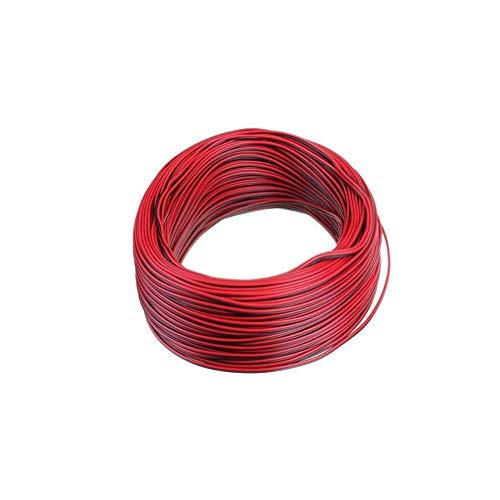 Uonlytech 100M 2 Pin LED Strip Verlängerungskabel Kabel Anschlusskabel für 5050 Flex LED Strip LED Tape LED Ribbon Flexible LED String LED Lichtschlauch -