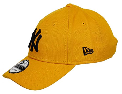 New Era New York Yankees 9forty Adjustable Cap League Essential Gold - One-Size