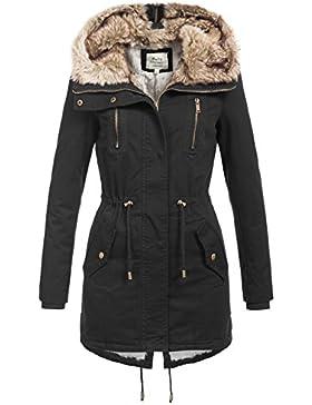 Softy Outerwear -  Giacca  - Parka - Basic - Collo a U  - Maniche lunghe  - Donna