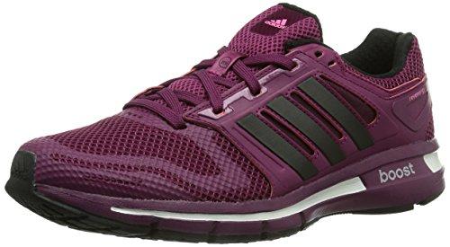 adidas Revenergy Mesh Boost, Chaussures de running femme Rose (Tribe Berry F14/Black 1/Neon Pink)