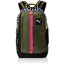 PUMA Rucksack PY Fresh Backpack - Mochila, color verde, talla 29 x 48 x