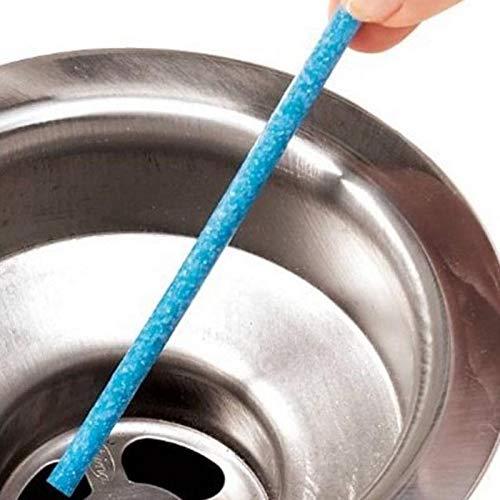 XuBaoFu-SH, 2019 12 / Set Öl Dekontamination Die Küche Toilette Badewanne Abflussreiniger Abwasserkanal Reinigungsstab Praktische Kanalisation Haar klar