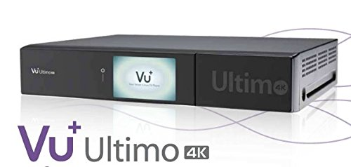 VU+ Ultimo 4K 1x DVB-S2 FBC Twin Tuner (PVR ready, Linux Receiver, Ultra High Definition 2160p)