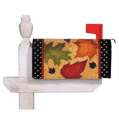 Falling Leaves Magnetic Mailbox Cover