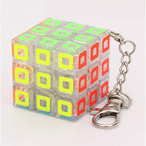 NFHNBABO El Cubo De Rubik Mini Magic Cube Keychain