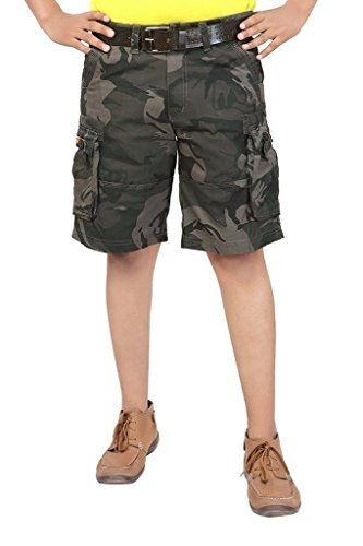 Zacharias Military Cotton Cargo Shorts