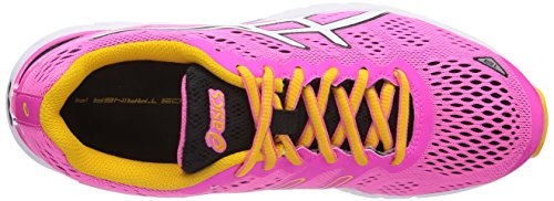 ASICS - Gel-Ds Trainer 19 Neutral, Scarpe Da Corsa da donna Rosa(Rosa (3501-Neon Pink/White/Schwarz))