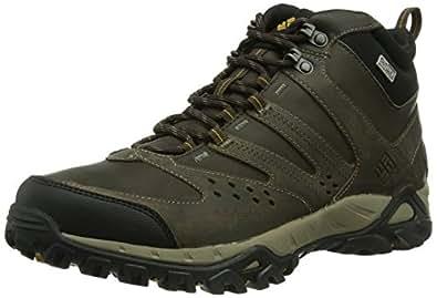 Columbia Peakfreak Xcrsn Mid Leather Outdry, Chaussures de randonnée homme, Marron, 47