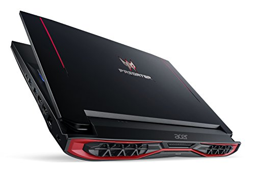 Acer Predator 15 G9 G9-593 15.6-Inch Notebook - (Black) (Intel Core i7-6700HQ, 16 GB RAM, 256 GB SSD Plus 1000 GB HDD, Nvidia GeForce GTX 1060, Windows 10)