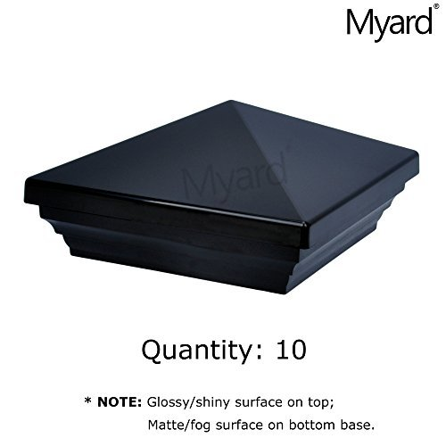 Universal 10,2x 10,2cm und 11,4x 11,4cm Zaun Pyramide Pfostenkappe pnp115445 -