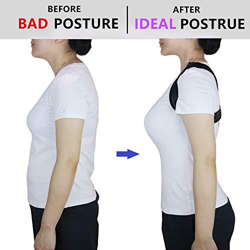Zoom IMG-2 correttore postura schiena regolabile supporto