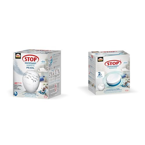 Pattex Stop Feuchtigkeit: Luftentfeuchter + Luftentfeuchter Nachfüller 2 x 300 g (PLRN2)