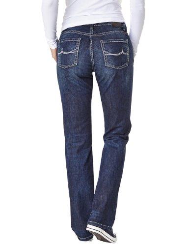 Pioneer - Jeans Droit - Femme Bleu (dark blue used 667)