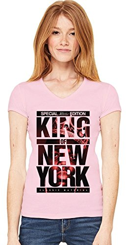 Notorious BIG King Of New York Special Edition Womens V-neck T-shirt XX-Large -