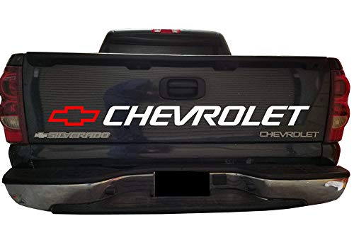 Chevrolet Aufkleber Silverado Bed Vinyl Graphics New Style für Pickup Trucks