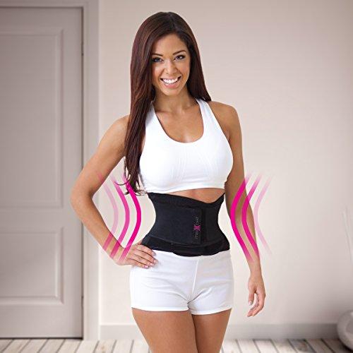 5248703a5e1 JML Miss Belt Women Waist Trainer Compression Support Girdle Slim in Black  S-M