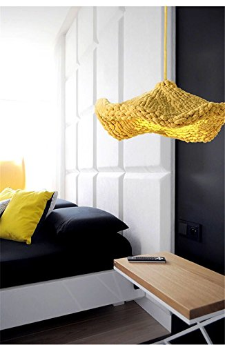 Handgemachte Dual Zweck gewebt Lotus Leaf Haustier-Bett für Hunde und Katzen, Lampe Schirm Durchmesser x 50cm