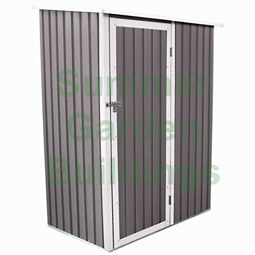metal-shed-tall-garden-storage-galvanized-steel-pent-roof-foundation-rails-shed-only