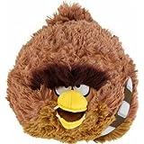 "Oficial Angry Birds Star Wars 6"" muñeco de peluche de la serie 2 - Chewbacca"