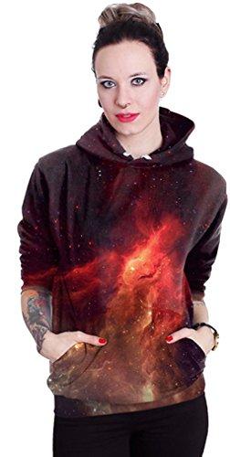 Belsen unisex Kapuzenpullover Sweatshirts Liebhaber Valentine Set Galaxy Star