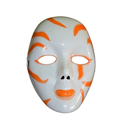 Miaomiaogo Halloween Masquerade Horror Ghost Maske Dämon Scary Maske Party (Leere Drama Maske)