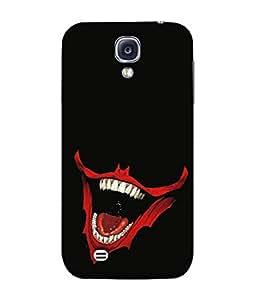 PrintVisa Designer Back Case Cover for Samsung Galaxy S4 Mini I9195I :: Samsung I9190 Galaxy S4 Mini :: Samsung I9190 Galaxy S Iv Mini :: Samsung I9190 Galaxy S4 Mini Duos :: Samsung Galaxy S4 Mini Plus (Cool Design Of The Laughing Devil)