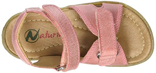 Naturino Sun, Sandales Bout Ouvert Fille Rose (rosa)