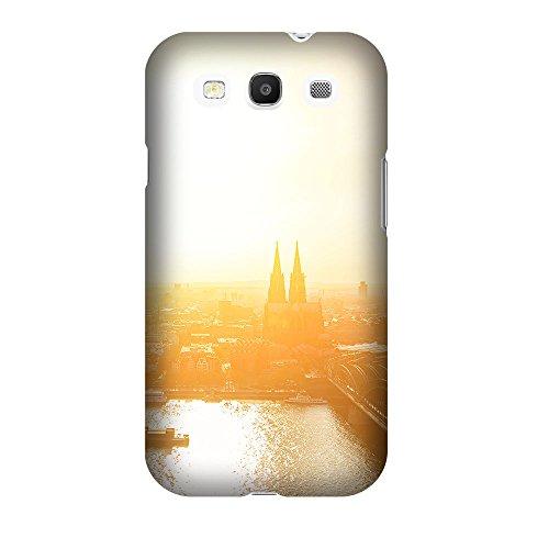 Cover Samsung Galaxy S3 - Cover per smartphone stampata anche sui lati - pregiata cover per smartphone - Cover design creativa in plastica rigida - Lichtblick Colonia