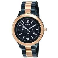 Fossil Q Women's Gen 3 Venture Two Tone Stainless Steel Smartwatch - FTW6002