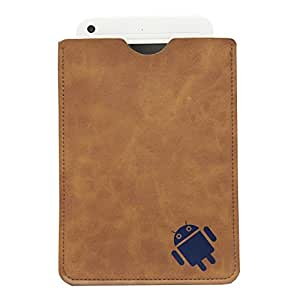 BRAIN FREEZER 7INCH ANDROID CARRY CASE POUCH FOR LAVA VELO+ TABLET BROWN