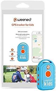 Weenect Kids – GPS-Tracker für Kinder – langlebiger Akku und Notfalltelefon