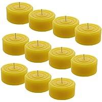 Herz Geschenkdose mit 6 Bienenwachs Teelichter für Romantische Stunden